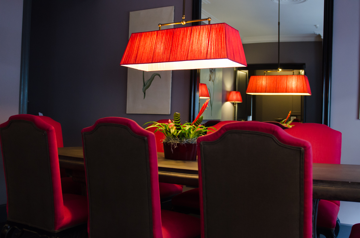 Boutique Hotel Paleis - Den Haag - Exclusive boardroom, suitable for group of 2 to 16 people